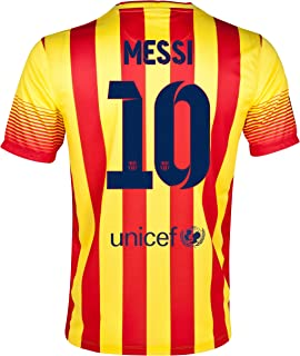 Nike Barcelona Away 2013/14 Jersey with Messi 10 - Size Adult X-Large