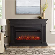 Real Flame Beau Electric Fireplace, Gray
