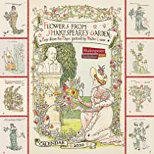 Shakespeare Birthplace Trust – Flowers from Shakespeare's Garden Wall Calendar 2020 (Art Calendar)