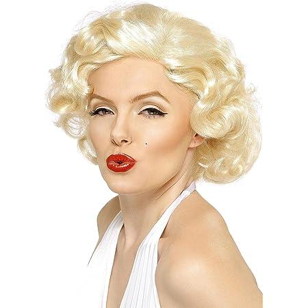 Widmann Perruque Film Star Blond Maryline NEUF