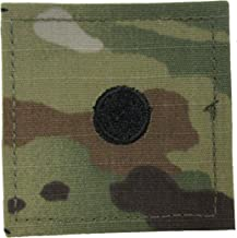Small Dot Army 2LT ROTC Cadet Rank - OCP Scorpion with HOOK Fastener