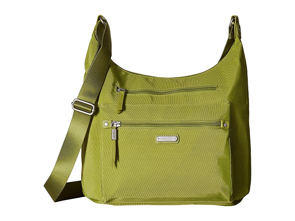 Baggallini New Classic Day Trip Hobo with RFID Phone Wristlet (Spring Green) Hobo Handbags