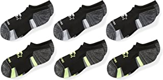 Boys' 6-Pack Athletic No-Show Socks, Amazon Exclusive