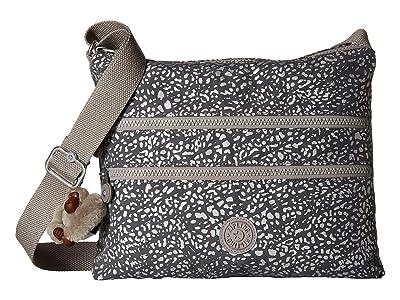 Kipling Alvar Crossbody Bag (Luminous Stripe) Cross Body Handbags