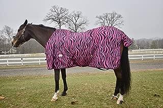 Barn&Stable Horse Blanket/600D Turnout Sheet Zebra Print Sizes 69
