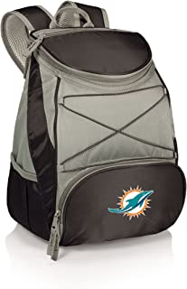 NFL Miami Dolphins PTX Insulated Backpack Cooler, Black
