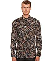 Just Cavalli - Teardrop Crow Button Down