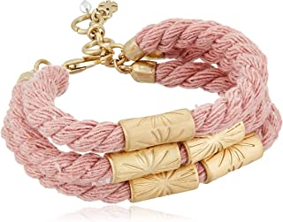 Lucky Brand Rosy Rope Bracelet