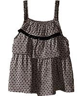 IKKS - Printed Top with Adjustable Embroidered Straps (Little Kids/Big Kids)