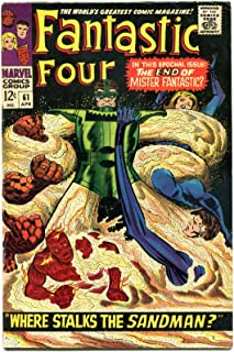 FANTASTIC FOUR #61, VF, Silver Surfer, Jack Kirby, 1961, more FF in store, QXT