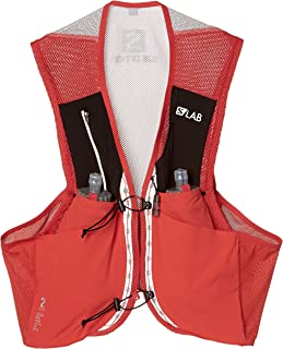 Salomon Unisex S/Lab Sense 2 Set Hydration Vest, Racing Red, Large