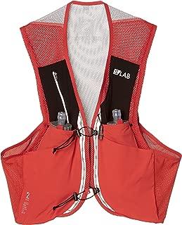 Salomon Unisex S/Lab Sense 2 Set Hydration Vest, Racing Red, Large
