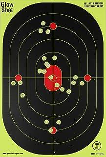12×18-Inch Bullseye Glowshot Splatter Targets, 50 Packs