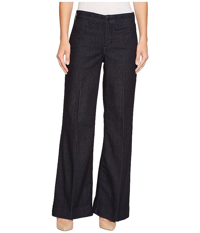 NYDJ Teresa Trouser in Dark Enzyme (Dark Enzyme) Women's Jeans