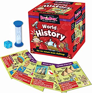 BrainBox for Kids - World History Card Game