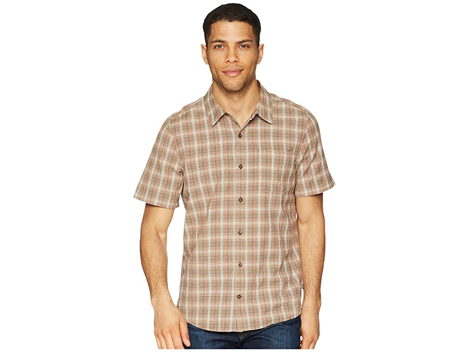 Toad&Co Airscape Short Sleeve Shirt (Thyme) Men