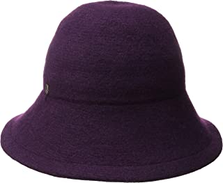 Women's One Size Boiled Wool Floppy Hat
