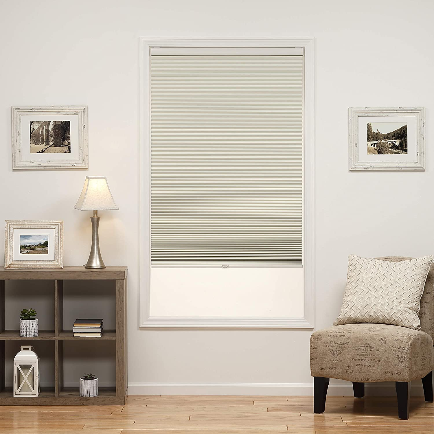 DEZ San Jose Mall Furnishings QECRWT200480 Online limited product Cordless 2 Blackout Shade Cellular