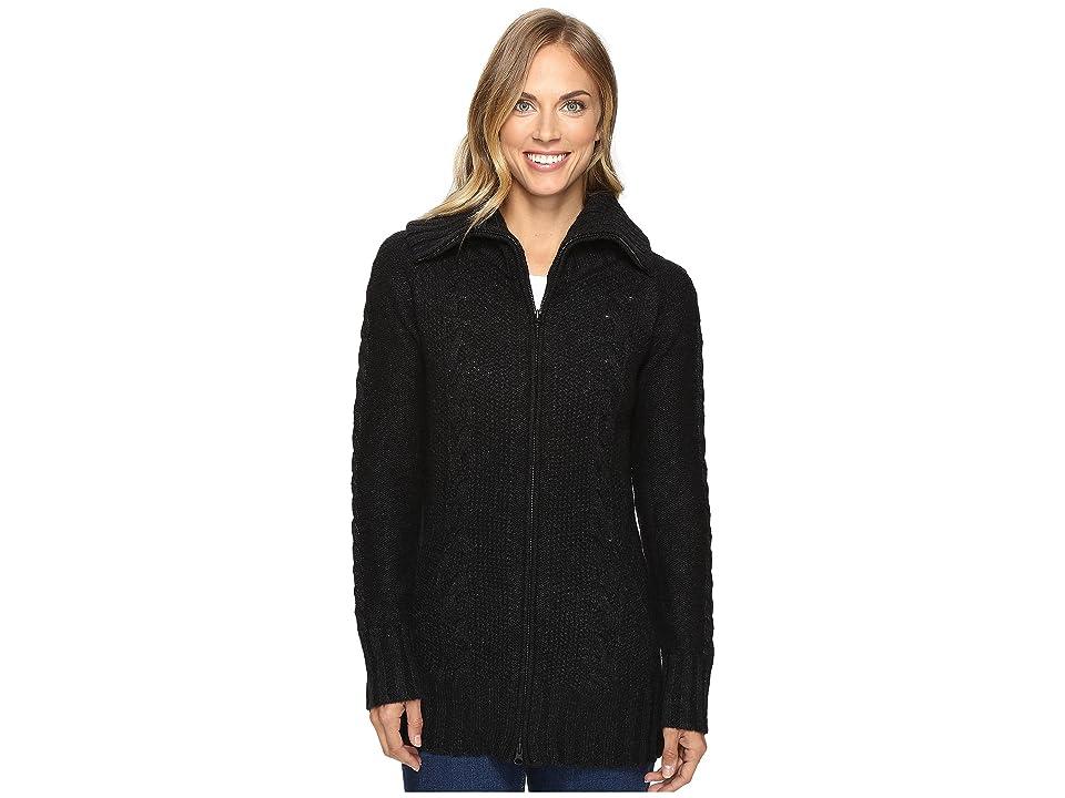 Smartwool Crestone Sweater Jacket (Charcoal Heather) Women