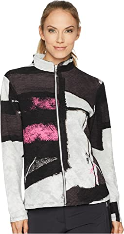 Jamie Sadock Osaka Print Textured Jacket