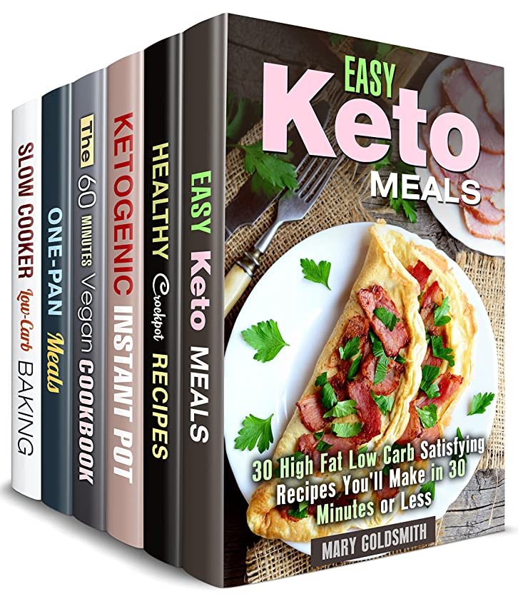 Stay Fit Box Set (6 in 1) : Over 200 Ketogenic, Low Carb, Vegan Recipes for People on a Diet (Weight Loss Recipes Book 2) (English Edition)