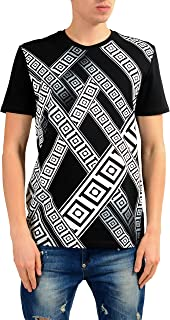 Collection Men's Black Graphic Print T-Shirt US XL IT 54