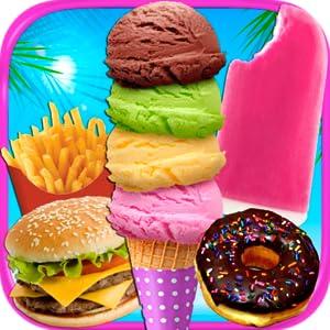 School Lunch Food Maker - Kids Cooking Games FREE