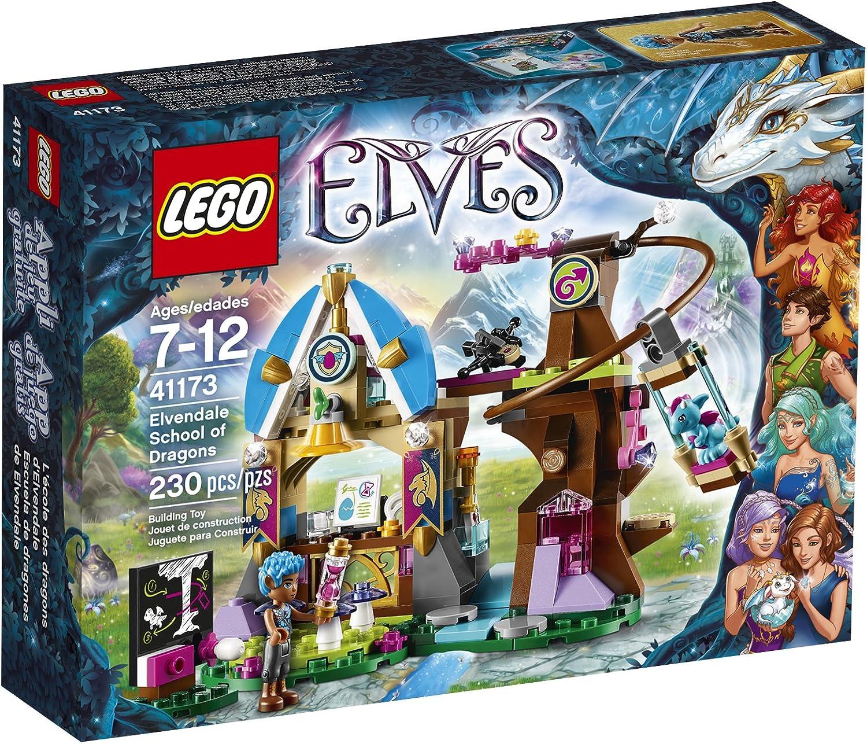 últimos estilos LEGO LEGO LEGO Elves Elvendale School of Dragons 41173 by LEGO  solo cómpralo