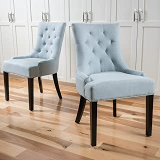 Best blue wingback dining chair Reviews