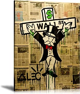 ALEC Monopoly HD Printed Oil Paintings Home Wall Decor Art On Canvas Exile On Wall Street 24x32inch Unframed