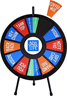 """31"""" Insert Your Own Graphics Prize Wheel with 12-24 Slots"""