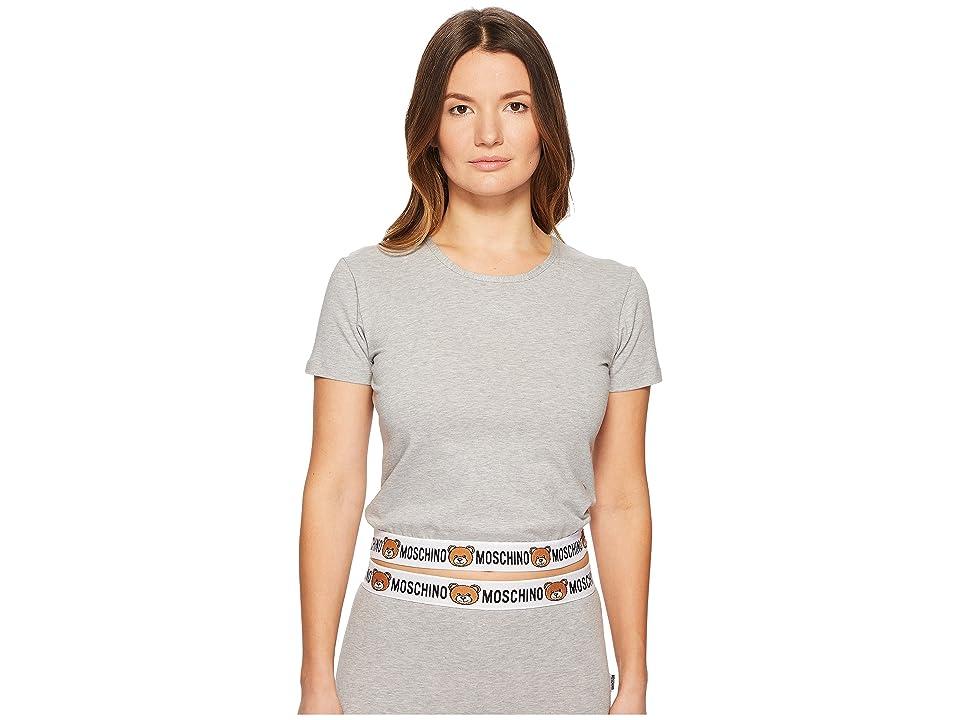 Moschino Underbear T-Shirt (Gray Melange) Women