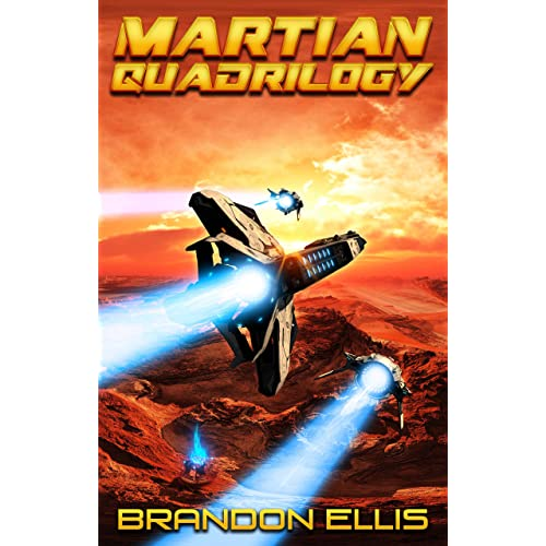 Martian Quadrilogy Box Set: A Mars Space Opera Series: Books 1 - 4