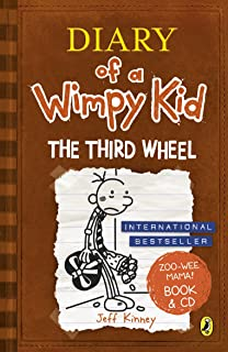 Diary of a Wimpy Kid: The Third Wheel book & CD