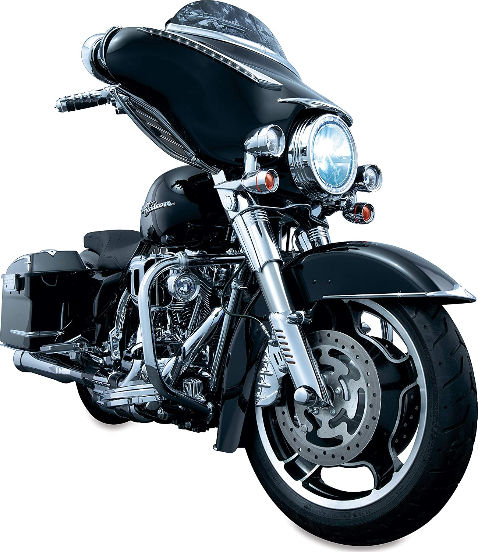 Kuryakyn Front Fender Side Trim Chrome Harley FLHT FLHR FLHX FLTR 1998-2012 7786