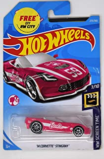 Hot Wheels Barbie car - '14 Corvette Stingray