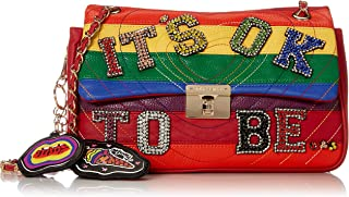 Betsey Johnson Okay to Be… Flap Shoulder Bag, Rainbow