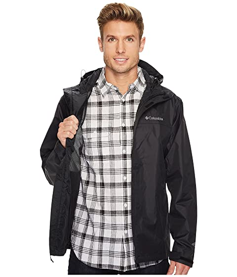 Water Black Watertight Jacket II Columbia n41Yq5Uqx