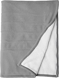 Biddefor Microplush Electric Throw Blanket Black /& White Aztec 62 inches W L x 50 inches
