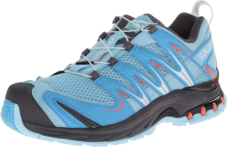 Salomon Woherrar XA Pro 3D Trail Trail Trail Running skor, Air  blå Line  Melon Bloom, 6 M USA  trendig
