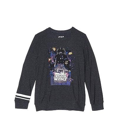 Chaser Kids Disney Star Wars Empire Strikes Back Cozy Knit Pullover Sweater (Little Kids/Big Kids) (Black) Boy