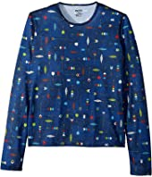 Hot Chillys Kids Pepper Skins Print Crew Neck (Little Kids/Big Kids)