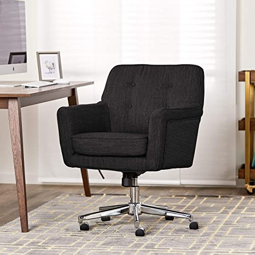 Cool Home Office Chairs Ergonomic Serta Ashland Home Office Chair Dark Gray Nationonthetakecom Cool Desk Chair Amazoncom
