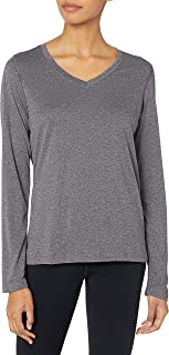 Sport Women's Cool DRI Performance Long Sleeve V-Neck Tee