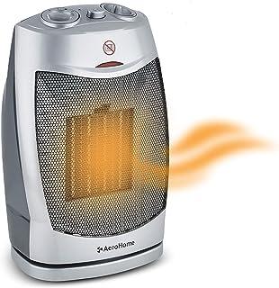 AeroHome 1500W / 750W Ceramic Oscillating Portable Space Heater