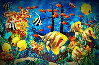 Puzzles 500 Pieces for Adult, Ocean Tropical Fish Coral Reef Jigsaw Puzzle, Puzzles for Adults 500 Piece