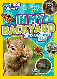 In My Backyard Sticker Activity Book