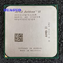 AMD Athlon II X4 640 3.0GHz Quad-Core Desktop CPU Processor ADX640WFK42GM Socket AM3 2MB 95W