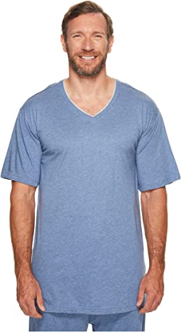 Big & Tall Cotton Modal V-Neck Short Sleeve T-Shirt