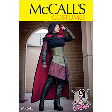McCall/'s 6-14 Sewing Pattern Misses/' Carnival Cosplay Costume Jacket Coat